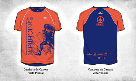 "Post thumbnail of DISEÑO – Camiseta ""LPA NightRun 2015″"