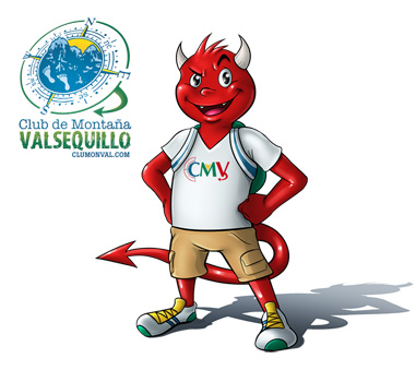 "Post thumbnail of ILUSTRACIÓN – Mascota ""Club de Montaña Valsequillo"""
