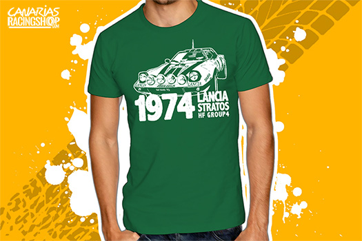 "Post thumbnail of RACINGSHOP – Camiseta ""Lancia Stratos"""