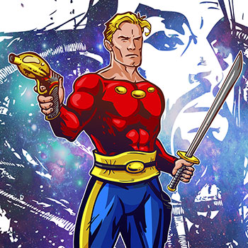 Post thumbnail of ILUSTRACIÓN – Flash Gordon
