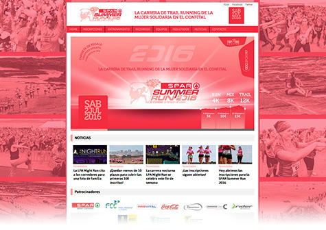 Post thumbnail of DISEÑO – Web SPAR Summer Run 2016