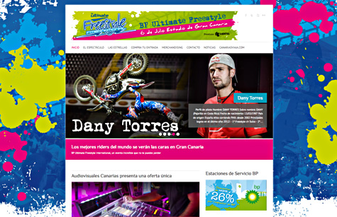 "Post thumbnail of DISEÑO – Web ""BP Ultimate Freestyle"""
